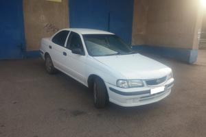 Автомобиль Nissan Sunny, среднее состояние, 2001 года выпуска, цена 130 000 руб., Магнитогорск