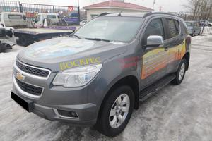 Авто Chevrolet TrailBlazer, 2014 года выпуска, цена 1 310 000 руб., Москва