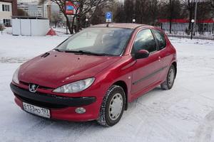 Подержанный автомобиль Peugeot 206, отличное состояние, 2005 года выпуска, цена 214 000 руб., Подольск