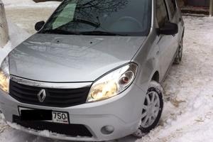 Подержанный автомобиль Renault Sandero, отличное состояние, 2014 года выпуска, цена 420 000 руб., Электросталь