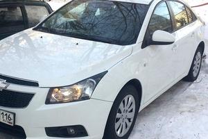 Автомобиль Chevrolet Cruze, хорошее состояние, 2012 года выпуска, цена 450 000 руб., Азнакаево