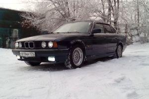 Автомобиль BMW 5 серия, среднее состояние, 1994 года выпуска, цена 145 000 руб., Магнитогорск