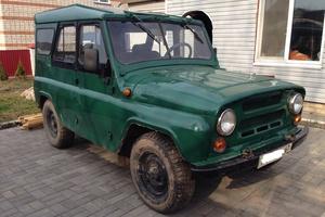 Подержанный автомобиль УАЗ 3151, хорошее состояние, 1995 года выпуска, цена 91 000 руб., Рославль