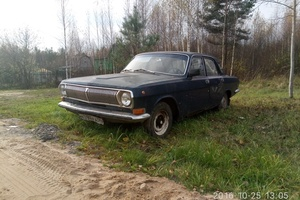 Автомобиль ГАЗ 24 Волга, плохое состояние, 1974 года выпуска, цена 22 222 руб., Москва