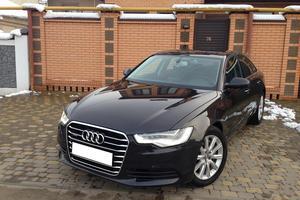 Подержанный автомобиль Audi A6, отличное состояние, 2013 года выпуска, цена 1 460 000 руб., Краснодар