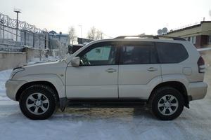 Подержанный автомобиль Toyota Land Cruiser Prado, хорошее состояние, 2008 года выпуска, цена 1 350 000 руб., Нижневартовск