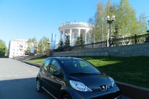 Подержанный автомобиль Peugeot 107, отличное состояние, 2011 года выпуска, цена 365 000 руб., Челябинск