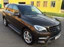 Подержанный Mercedes-Benz M-Класс, коричневый металлик, цена 3 190 000 руб. в Смоленской области, отличное состояние