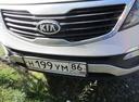 Подержанный Kia Sportage, серебряный , цена 830 000 руб. в ао. Ханты-Мансийском Автономном округе - Югре, хорошее состояние