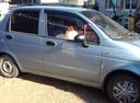 Подержанный Daewoo Matiz, голубой перламутр, цена 155 000 руб. в республике Татарстане, отличное состояние
