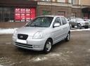 Подержанный Kia Picanto, серебряный металлик, цена 250 000 руб. в Челябинской области, хорошее состояние