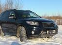 Подержанный Hyundai Santa Fe, синий перламутр, цена 990 000 руб. в ао. Ханты-Мансийском Автономном округе - Югре, отличное состояние