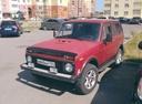 Подержанный ВАЗ (Lada) 4x4, красный , цена 110 000 руб. в Челябинской области, хорошее состояние