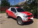 Подержанный Mitsubishi L200, красный , цена 800 000 руб. в ао. Ханты-Мансийском Автономном округе - Югре, хорошее состояние