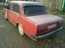 Подержанный ВАЗ (Lada) 2107, бордовый , цена 32 999 руб. в Челябинской области, хорошее состояние