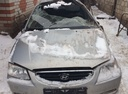 Подержанный Hyundai Accent, бежевый , цена 70 000 руб. в республике Татарстане, битый состояние