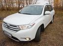 Подержанный Toyota Highlander, белый перламутр, цена 1 350 000 руб. в Челябинской области, отличное состояние