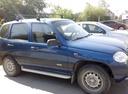 Подержанный Chevrolet Niva, синий металлик, цена 215 000 руб. в Челябинской области, хорошее состояние