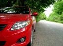 Подержанный Toyota Corolla, красный металлик, цена 400 000 руб. в Челябинской области, отличное состояние
