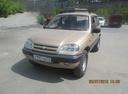 Подержанный Chevrolet Niva, золотой металлик, цена 240 000 руб. в Челябинской области, хорошее состояние