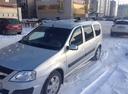 Подержанный ВАЗ (Lada) Largus, серебряный металлик, цена 450 000 руб. в Челябинской области, отличное состояние