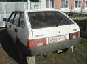 Подержанный ВАЗ (Lada) 2109, белый , цена 25 000 руб. в Челябинской области, среднее состояние