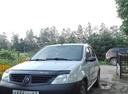 Подержанный Renault Logan, серый , цена 195 000 руб. в Смоленской области, хорошее состояние