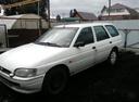 Подержанный Ford Escort, белый , цена 75 000 руб. в Челябинской области, хорошее состояние