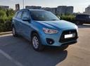 Подержанный Mitsubishi ASX, синий металлик, цена 850 000 руб. в ао. Ханты-Мансийском Автономном округе - Югре, отличное состояние