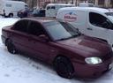 Подержанный Kia Spectra, пурпурный , цена 190 000 руб. в Смоленской области, хорошее состояние