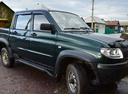 Подержанный УАЗ Patriot, зеленый , цена 365 000 руб. в Челябинской области, отличное состояние