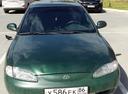 Подержанный Hyundai Lantra, зеленый металлик, цена 220 000 руб. в ао. Ханты-Мансийском Автономном округе - Югре, хорошее состояние