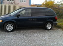 Подержанный Chrysler Voyager, синий , цена 300 000 руб. в Челябинской области, хорошее состояние