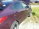 Подержанный Hyundai Solaris, фиолетовый металлик, цена 410 000 руб. в ао. Ханты-Мансийском Автономном округе - Югре, хорошее состояние