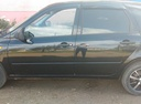 Подержанный ВАЗ (Lada) Kalina, черный , цена 195 000 руб. в республике Татарстане, хорошее состояние