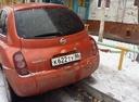 Подержанный Nissan March, оранжевый , цена 150 000 руб. в ао. Ханты-Мансийском Автономном округе - Югре, среднее состояние