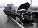 Подержанный Hyundai i30, черный металлик, цена 250 000 руб. в ао. Ханты-Мансийском Автономном округе - Югре, битый состояние