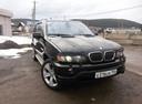 Подержанный BMW X5, черный металлик, цена 430 000 руб. в Челябинской области, хорошее состояние