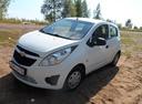 Подержанный Chevrolet Spark, белый , цена 288 000 руб. в республике Татарстане, отличное состояние