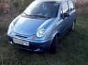 Подержанный Daewoo Matiz, голубой металлик, цена 145 000 руб. в республике Татарстане, хорошее состояние