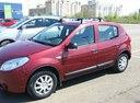 Подержанный Renault Sandero, бордовый , цена 350 000 руб. в республике Татарстане, хорошее состояние