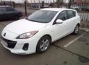 Подержанный Mazda 3, белый , цена 660 000 руб. в Челябинской области, отличное состояние