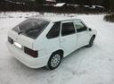 Подержанный ВАЗ (Lada) 2114, белый матовый, цена 145 000 руб. в Челябинской области, хорошее состояние