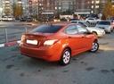 Подержанный Hyundai Solaris, оранжевый , цена 650 000 руб. в ао. Ханты-Мансийском Автономном округе - Югре, отличное состояние