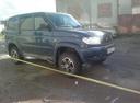 Подержанный УАЗ Patriot, синий металлик, цена 520 000 руб. в Челябинской области, отличное состояние
