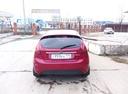 Подержанный Ford Fiesta, вишневый металлик, цена 350 000 руб. в Челябинской области, хорошее состояние