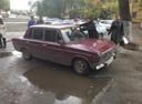 Подержанный ВАЗ (Lada) 2106, вишневый металлик, цена 25 000 руб. в Челябинской области, среднее состояние