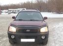 Подержанный Hyundai Santa Fe, бордовый, 2003 года выпуска, цена 460 000 руб. в Тюмени, автосалон