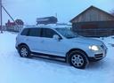 Подержанный Volkswagen Touareg, серебряный металлик, цена 600 000 руб. в республике Татарстане, хорошее состояние