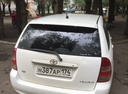 Подержанный Toyota Corolla, белый акрил, цена 250 000 руб. в Челябинской области, хорошее состояние